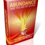 Ebook:  Abundance and the Art of Giving